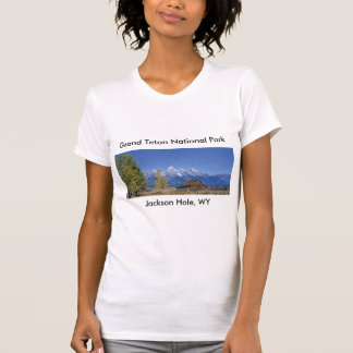 Grand Teton National Park Series 5 T Shirts