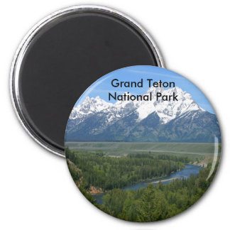 Grand Teton National Park Series 8 Magnet