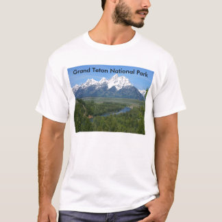 Grand Teton National Park Series 8 T-Shirt