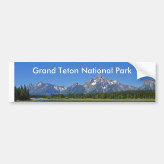 Grand Teton National Park Series 9 Bumper Sticker