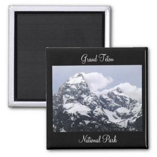 Grand Teton National Park Square Magnet