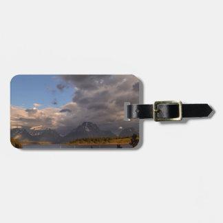 Grand Teton National Park Sunrise Luggage Tag