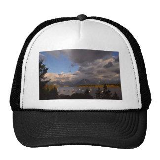 Grand Teton National Park Sunrise Mesh Hat