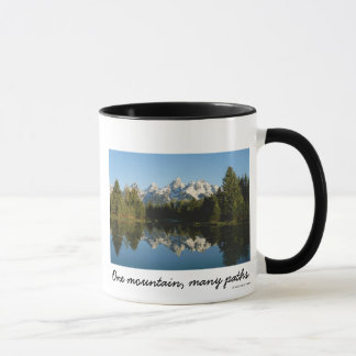 Grand Teton National Park, Teton Range, WY Mug