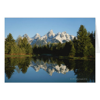 Grand Teton National Park, Teton Range, Wyoming, Card