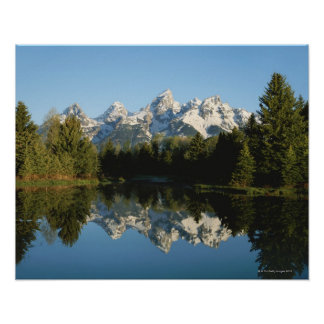 Grand Teton National Park, Teton Range, Wyoming, Poster