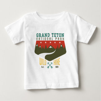 Grand Teton National Park Wyoming Baby T-Shirt