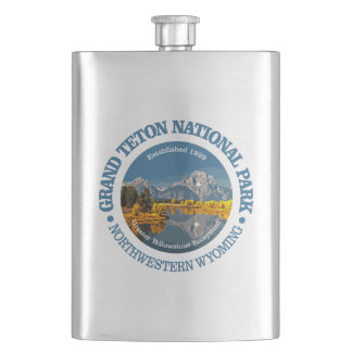 Grand Teton NP Hip Flask