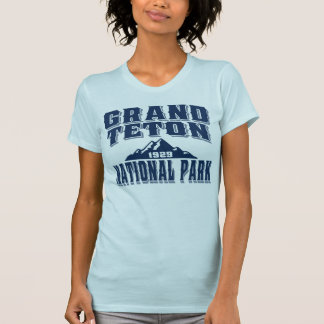 Grand Teton Old Style Blue T-Shirt