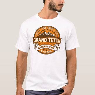Grand Teton Pumpkin T-Shirt