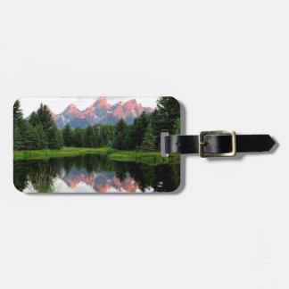Grand Teton Reflections Over the Beaver Pond Bag Tag