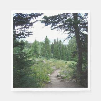 Grand Teton Trail Paper Napkin