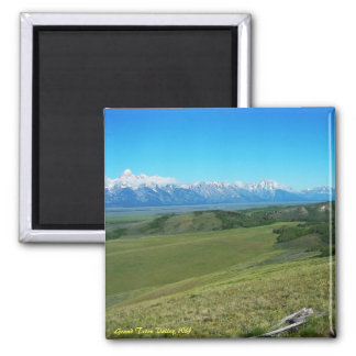 Grand Teton Valley, WY Magnet