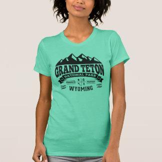Grand Teton Vintage Black T-Shirt