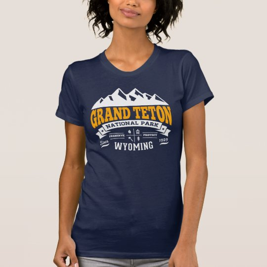 Grand Teton Vintage Gold T-Shirt