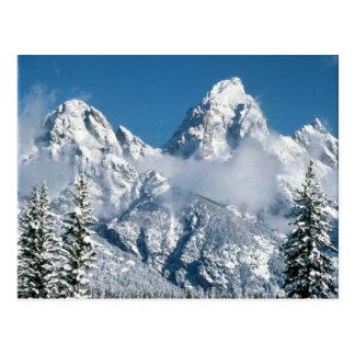 Grand Teton Winter Postcard