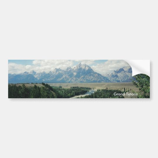 Grand Tetons Bumper Sticker