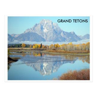 Grand Tetons in Autumn - Postcard