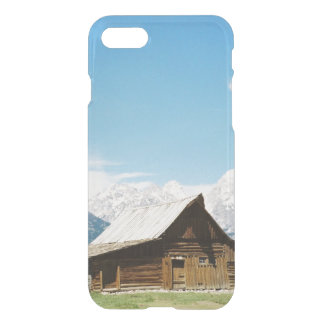 Grand Tetons Mormon Barn iPhone 7 Case