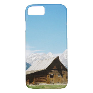 Grand Tetons Mormon Barn iPhone 7 Case