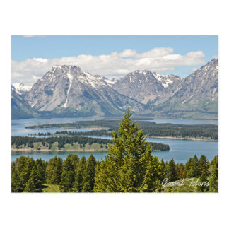Grand Tetons National Park 2017 Calendar Postcard