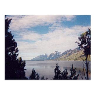 Grand Tetons National Park Postcard