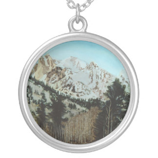 Grand Tetons Sterling Necklace