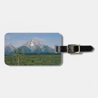 Grand Tetons- Wyoming Luggage Tag