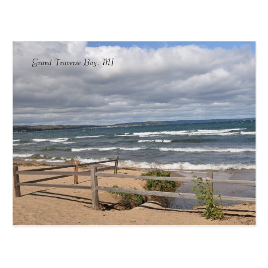 Grand Traverse Bay, MI Postcard