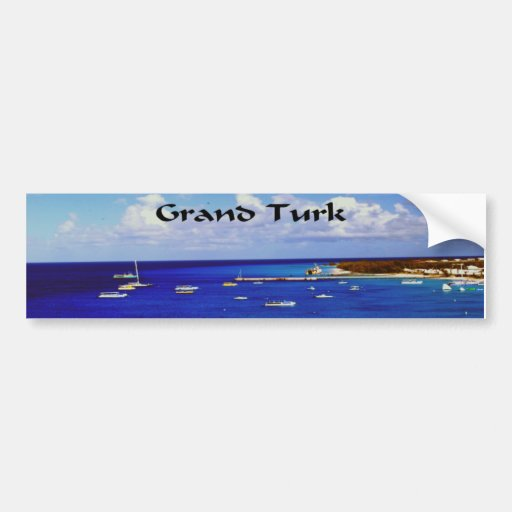 Grand Turk Bumper Stickers