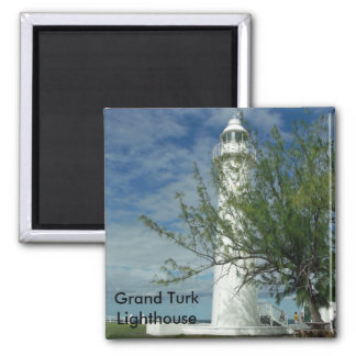 Grand Turk Lighthouse Magnet