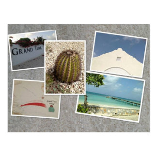 Grand Turk Photo Collage Postcard