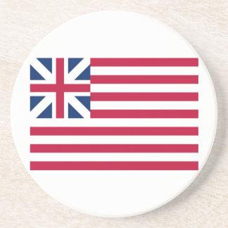 Grand Union Flag Continental Colors Coaster