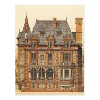 Grand Victorian Estate Postcard