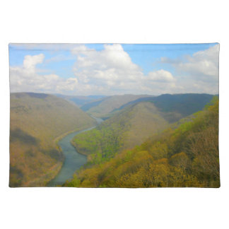 Grand View Overlook Raleigh County Placemat