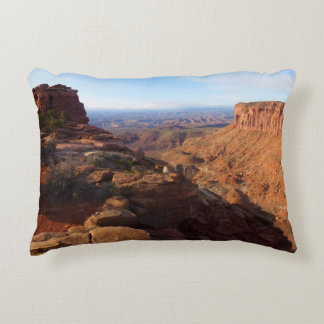 Grand View Point at Canyonlands National Park Accent Pillow