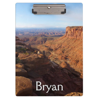 Grand View Point at Canyonlands National Park Clipboard