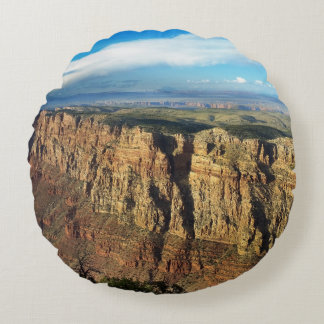 Grand View Point Grand Canyon National Park Round Pillow