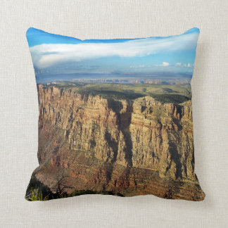 Grand View Point Grand Canyon National Park Throw Pillow