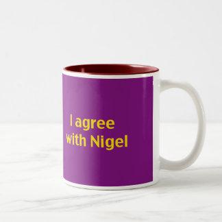 Grand vous tasse de café de kip