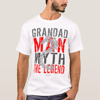 Grandad The Man The Myth The Legend by VIMAGO T-Shirt