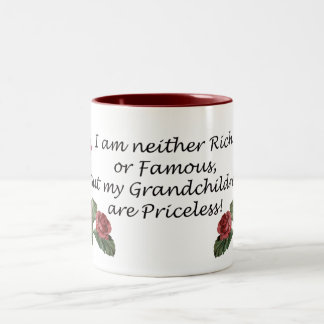 Grandchildren are Priceless Two-Tone Coffee Mug