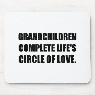 Grandchildren Circle Of Love Mouse Pad