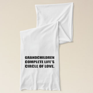 Grandchildren Circle Of Love Scarf