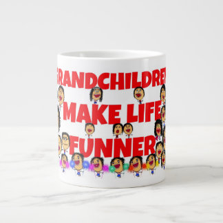 Grandchildren Expressions Large Coffee Mug