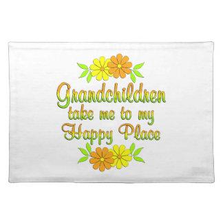Grandchildren Happy Place Placemat