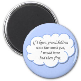 Grandchildren magnet