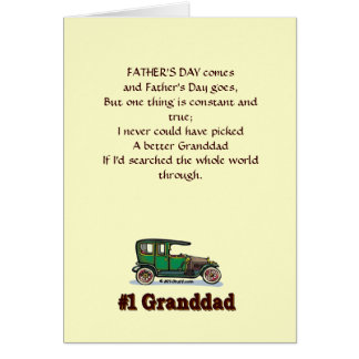 Granddad Father's Day Card