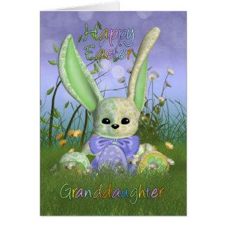 GranddaughteEaster Bunny Spring Greeting Card