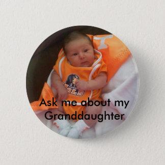 Granddaughter 2 Inch Round Button